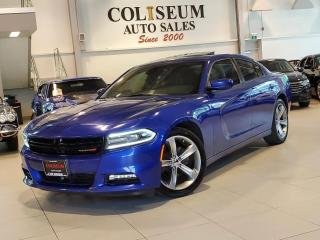 Used 2015 Dodge Charger SXT NAVIGATION-CAMERA-LEATHER-ROOF-REMOTE START for sale in Toronto, ON