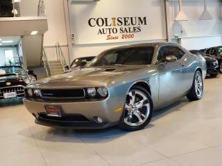 Used 2012 Dodge Challenger SXT PLUS-LEATHER-PADDLE SHIFT-SPORT MODE-NEW TIRES for sale in Toronto, ON