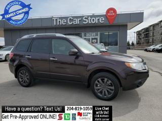 Used 2013 Subaru Forester 2.5X SUNROOF Heated Seats, Bluetooth, 1owner - AWD for sale in Winnipeg, MB