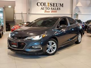 Used 2017 Chevrolet Cruze LT RS SPORT-AUTOMATIC-CAMERA-CARPLAY-CAMERA-82KM for sale in Toronto, ON