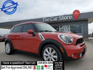 Used 2013 MINI Cooper Countryman AWD ALL4 S, Sunroof, Leather, heated Seats, 1owner for sale in Winnipeg, MB
