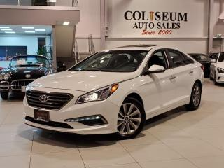 Used 2016 Hyundai Sonata GLS SPECIAL EDITION-LEATHER-SUNROOF-REAR CAM-83KM for sale in Toronto, ON