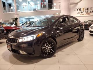 Used 2017 Kia Forte EX LUXURY-LEATHER-SUNROOF-CAMERA-CARPLAY-83KM for sale in Toronto, ON