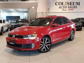 Used 2013 Volkswagen Jetta GLI DSG AUTOMATIC-LEATHER-ROOF-2 SETS OF WHEELS for sale in Toronto, ON