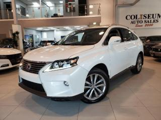 Used 2015 Lexus RX 450h HYBRID AWD **LEATHER-ROOF-CAMERA-NAVIGATION** for sale in Toronto, ON