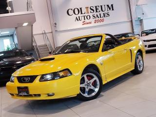 Used 2004 Ford Mustang GT CONVERTIBLE ***5 SPEED MANUAL-V8-CERTIFIED*** for sale in Toronto, ON
