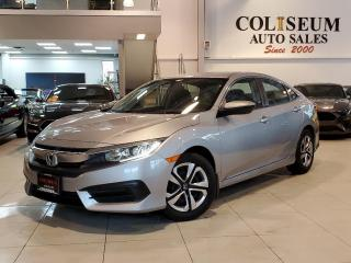 Used 2017 Honda Civic Sedan LX-AUTOMATIC-HEATED SEATS-CARPLAY-CAMERA-98KM for sale in Toronto, ON
