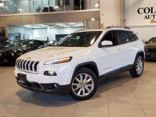 Used 2015 Jeep Cherokee 4WD LIMITED NAVIGATION-LEATHER-ROOF-HEATED SEATS for sale in Toronto, ON