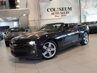 Used 2012 Chevrolet Camaro 2SS V8 CONVERTIBLE 45TH ANNIV.-1 OWNER-NO ACCIDENT for sale in Toronto, ON