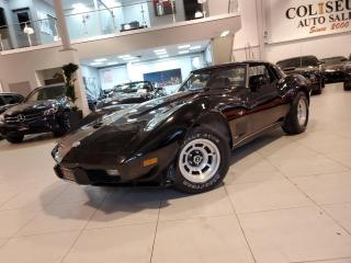 Used 1978 Chevrolet Corvette 25TH SILVER ANNIVERSARY EDITION **T-TOP ROOF** for sale in Toronto, ON