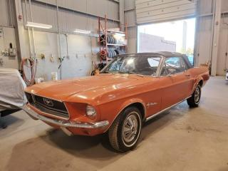 Used 1968 Ford Mustang CONVERTIBLE **STARTS AND RUNS-NEEDS RESTORATION** for sale in Toronto, ON
