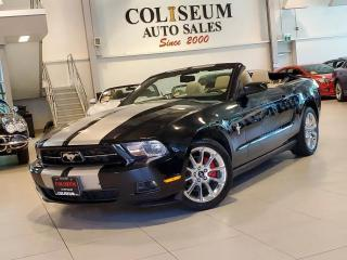 Used 2011 Ford Mustang V6 CONVERTIBLE **AUTOMATIC-LEATHER-CERTIFIED** for sale in Toronto, ON