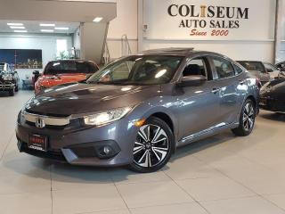 Used 2016 Honda Civic Sedan EX-T TURBO-AUTOMATIC-SUNROOF-CARPLAY-CAMERA-81KM for sale in Toronto, ON