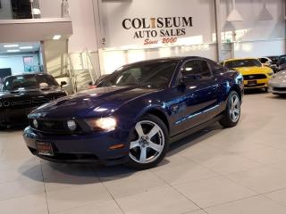 Used 2010 Ford Mustang GT-V8-5 SPEED MANUAL-GLASS ROOF-LEATHER for sale in Toronto, ON