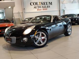 Used 2007 Pontiac Solstice CONVERTIBLE-5 SPEED MANUAL-ONLY 88000KM for sale in Toronto, ON