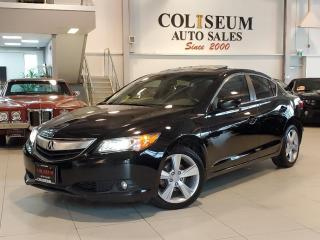 Used 2014 Acura ILX PREMIUM PACKAGE-AUTOMATIC-CAMERA-LEATHER-ROOF for sale in Toronto, ON