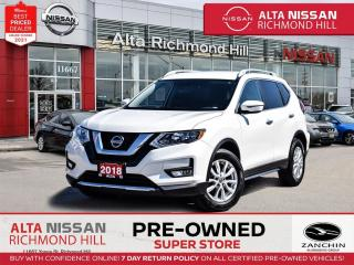 Used 2018 Nissan Rogue SV   Rear CAM   BSW   Remote Strt   Push Strt for sale in Richmond Hill, ON