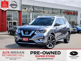 Used 2017 Nissan Rogue SL Plat   360CAM   BSW   PWR Liftgate   Pano   NAV for sale in Richmond Hill, ON