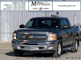 Used 2012 Chevrolet Silverado 1500 LT  4X4,CREW CAB,H.D TRAILERING,REMOTE START for sale in Kipling, SK