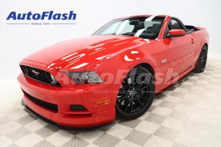 Used 2014 Ford Mustang *GT *CONVERTIBLE *PREMIUM *M6 * V8 *5.0 for sale in Saint-Hubert, QC