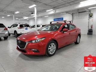 Used 2018 Mazda MAZDA3 GS - CAMERA + SIEGES CHAUFFANTS + JAMAIS ACCIDENTE for sale in Saint-Eustache, QC