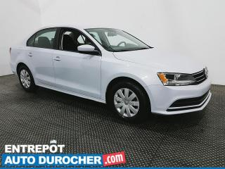 Used 2017 Volkswagen Jetta Sedan Trendline plus - MANUELLE - CLIMATISEUR for sale in Laval, QC