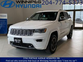 Used 2017 Jeep Grand Cherokee Overland for sale in Winnipeg, MB