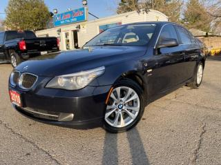 Used 2010 BMW 5 Series 4dr Sdn 535i xDrive AWD* NAVI*GOOD CONDITION for sale in Brampton, ON