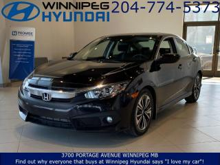 Used 2016 Honda Civic Sedan EX-T for sale in Winnipeg, MB