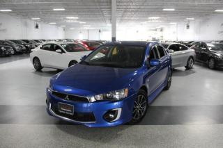 Used 2017 Mitsubishi Lancer ES NO ACCIDENTS I SUNROOF I REAR CAM I POWER OPTIONS I BT for sale in Mississauga, ON