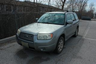 Used 2007 Subaru Forester MANUEL/2.5XS/5-SPEED/ACCIDENT FREE/AWD for sale in Newmarket, ON