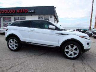 Used 2013 Land Rover Evoque Pure Premium Coupe Navigation Camera Certified for sale in Milton, ON