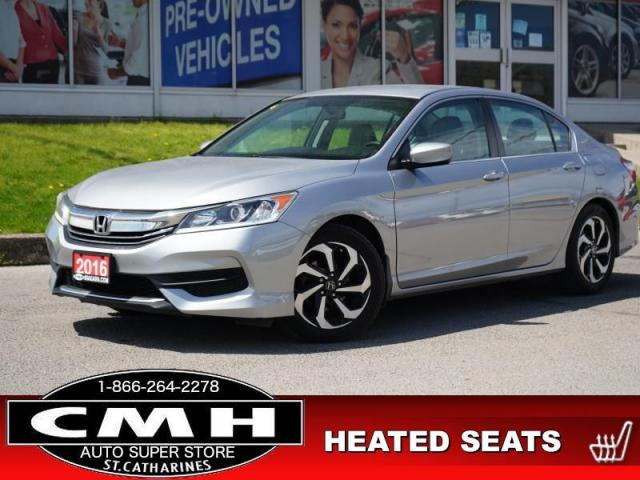 2016 Honda Accord Sedan LX  CAM BLUETOOTH HTD-SEATS 17-AL