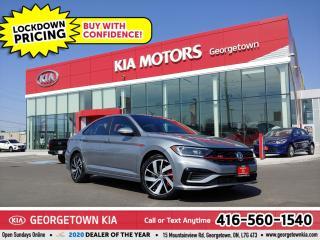 Used 2019 Volkswagen Jetta GLI | 1 OWNR| CLN CRFX| NAV | SUNROOF| LTHR | 27K for sale in Georgetown, ON