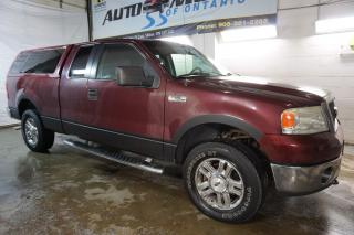Used 2006 Ford F-150 V8 XLT 4X4 TRITON CERTIFIED 2YR WARRANTY RUNNING BOARD CRUISE CHROME for sale in Milton, ON
