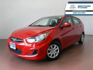 Used 2012 Hyundai Accent LOW KM | FULLY SERVICED HERE | AUX  - $78 B/W for sale in Brantford, ON