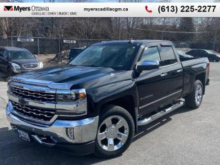 Used 2017 Chevrolet Silverado 1500 LTZ  LTZ DOUBLE CAB, 6.2 V8, LEATHER, NAV, 20'S *MINT MINT MINT* for sale in Ottawa, ON