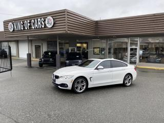 Used 2015 BMW 4 Series 428i xDrive Gran Coupe WITH AUTONOMOUS BRAKING for sale in Langley, BC