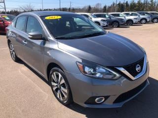 Used 2017 Nissan Sentra SL for sale in Charlottetown, PE