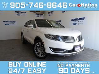 Used 2018 Lincoln MKX RESERVE | AWD | TECH PKG | LEATHER | ROOF | NAV for sale in Brantford, ON