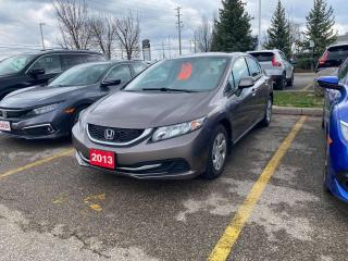 Used 2013 Honda Civic Sdn LX for sale in Waterloo, ON