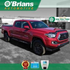 Used 2020 Toyota Tacoma 4WD SR5 w/4x4, Command Start, Adaptive Cruise, Lane Keep, Backup Cam for sale in Saskatoon, SK