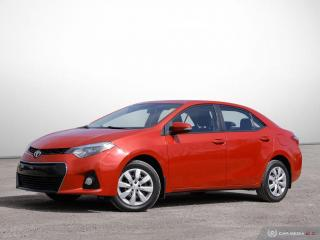 Used 2016 Toyota Corolla S for sale in Ottawa, ON