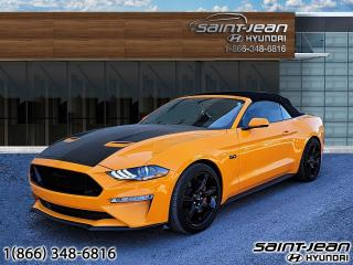 Used 2018 Ford Mustang GT Premium // CUIR + CAM DE RECUL for sale in Saint-Jean-sur-Richelieu, QC