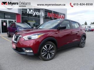 Used 2019 Nissan Kicks SV FWD  -  Alloy Wheels -  Fog Lights - $130 B/W for sale in Orleans, ON