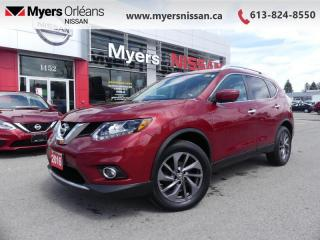Used 2016 Nissan Rogue SL  - Navigation -  Leather Seats - $140 B/W for sale in Orleans, ON