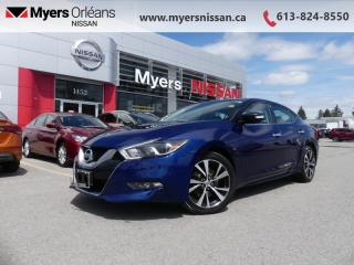 Used 2016 Nissan Maxima SV  - Navigation -  Bluetooth - $132 B/W for sale in Orleans, ON