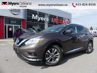 Used 2017 Nissan Murano SL  - Sunroof -  Navigation - $172 B/W for sale in Orleans, ON