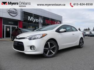 Used 2017 Kia Forte Koup EX  - Heated Seats -  Bluetooth - $103 B/W for sale in Orleans, ON