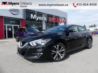 Used 2016 Nissan Maxima SV  - Navigation -  Bluetooth - $140 B/W for sale in Orleans, ON